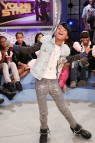 Willow Smith performing on BET's