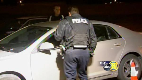 FPD checkpoints for DUI's are in full effect