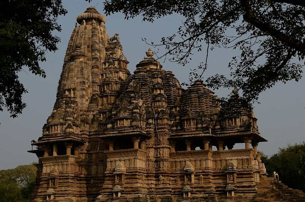 The magnificent Kandariya Mahadev temple in Khajuraho
