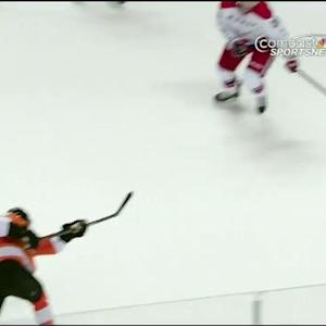 Mark Streit buries one on the power play