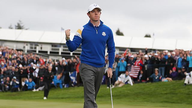Rory McIlroy spotted out with 2013 Ryder Cup heroine.