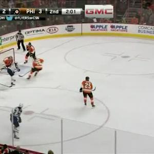 Steve Mason Save on Mathieu Perreault (18:00/2nd)