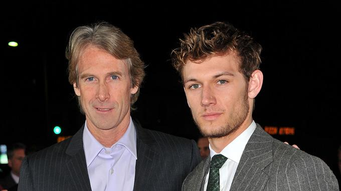 I Am Number Four LA Premiere 2011 Michael Bay Alex Pettyfer