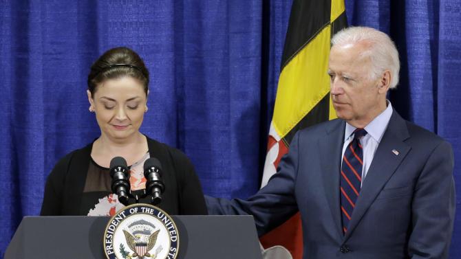 Joe Biden announces federal funding to end rape kit backlog