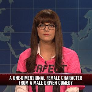 Weekend Update: One Dimensional Female Character