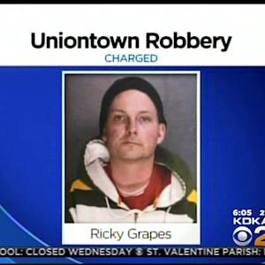 Police: Suspect In Uniontown Gas Station Robbery Caught On Surveillance Video