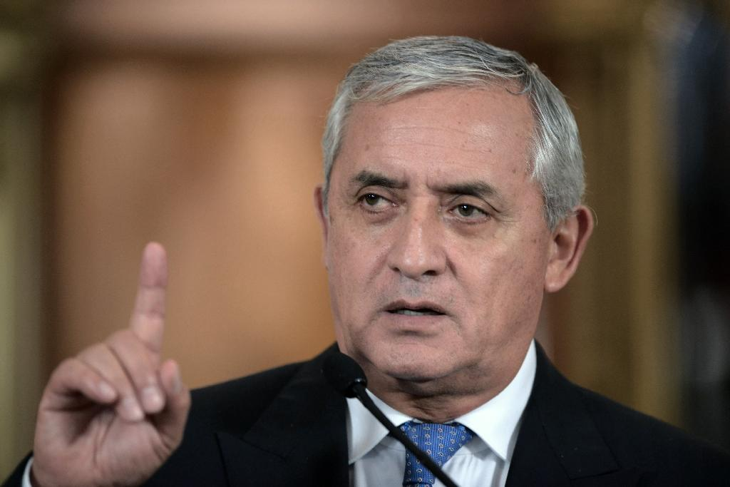 Guatemalan president accused of corruption resigns: spokesman