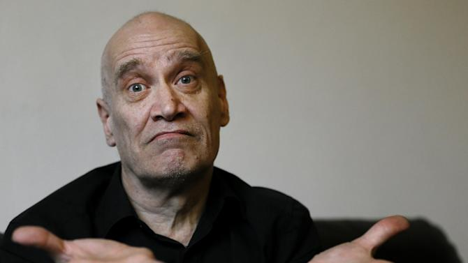 British musician and songwriter Wilko Johnson poses for portraits at his home in West Cliff on Sea, England, Tuesday, Jan. 29, 2013. The greatest rock star you may not have heard of - songwriter for rabble-rousing 1970s band Dr. Feelgood - is embarking on a farewell tour. Unlike some musical goodbyes, this one is permanent. Late last year, Johnson was diagnosed with terminal pancreatic cancer and told he had just months to live. (AP Photo/Kirsty Wigglesworth)British musician and songwriter Wilko Johnson poses for portraits at his home in West Cliff on Sea, England, Tuesday, Jan. 29, 2013. The greatest rock star you may not have heard of - songwriter for rabble-rousing 1970s band Dr. Feelgood - is embarking on a farewell tour. Unlike some musical goodbyes, this one is permanent. Late last year, Johnson was diagnosed with terminal pancreatic cancer and told he had just months to live. (AP Photo/Kirsty Wigglesworth)