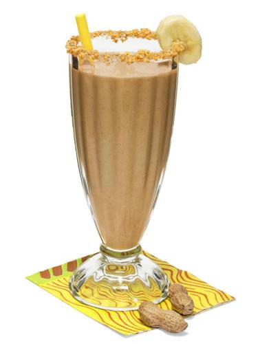 Peanut Butter and Banana Power Shake