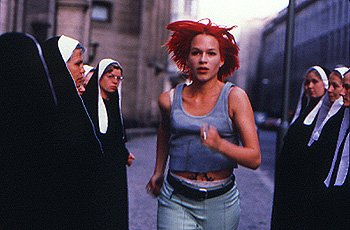 Franka Potente as Lola in Run Lola Run