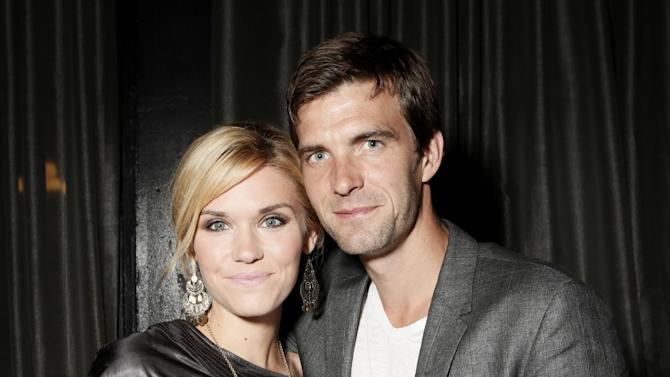 """COMMERCIAL IMAGE:  Emily Rose , left, and Lucas Bryant attend the Entertainment One  """"Haven"""" Party at Comic Con 2012 on Thursday, July 12, 2012 in San Diego. (Photo by Todd Williamson/Invision for eOne/AP Images)"""