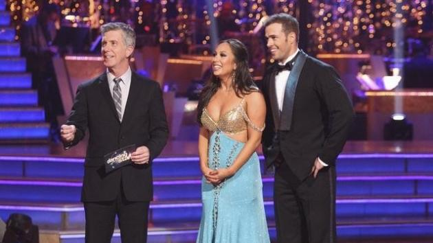 Cheryl Burke and William Levy on 'Dancing with the Stars,' Week 2, March 26, 2012 -- ABC