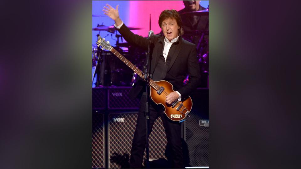 Paul McCartney Set The IHeartRadio Bar High