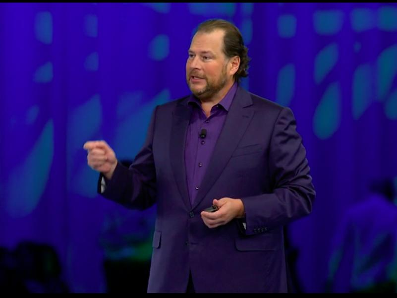 Marc Benioff had a stake in Quip before Salesforce bought it for $750 million