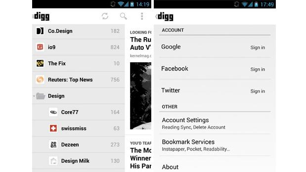 Digg for Android gets an unread mode for focused readers