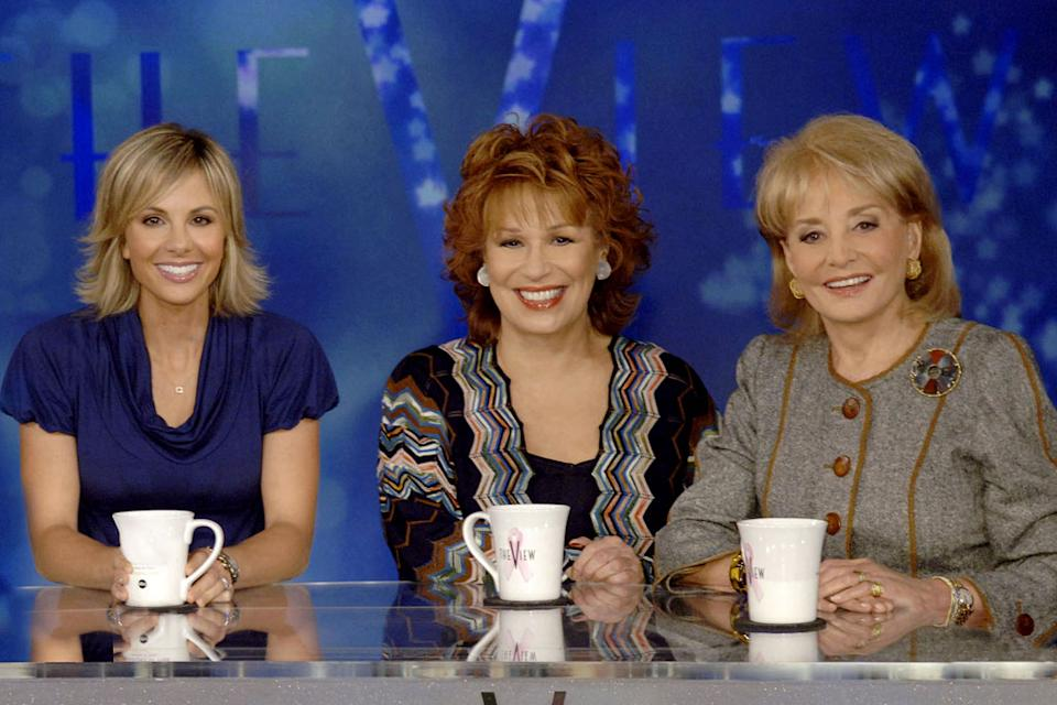 The No. 6 most-visited show on Yahoo! TV was The View. Rosie O'Donnell's departure and the ensuing war of words between her and fellow co-host Elisabeth Hasselbeck had everyone clicking. Barbara Walters