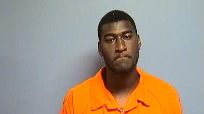 This undated photo provided by the Payne County Sheriff's Office shows Jacksonville Jaguars first-round draft pick receiver Justin Blackmon. Authorities in Oklahoma say Blackmon is being held on $1,000 bail after he was arrested on an aggravated DUI charge, Sunday, June 3, 2012. (AP Photo/Payne County Sheriff's Office)