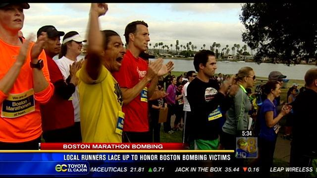 Local runners lace up to honor Boston bombing victims