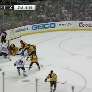 Marc-Andre Fleury Save on Joakim Nordstrom (16:05/3rd)
