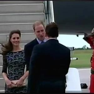 Prince William, Kate Middleton And Prince George's Tour Down Under