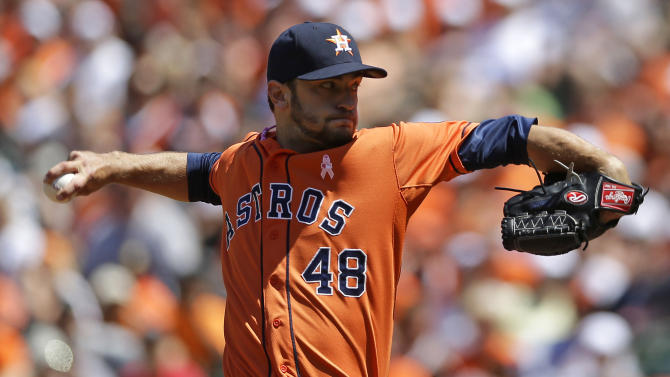 Astros hit 2 HRs in 5-2 win over Orioles