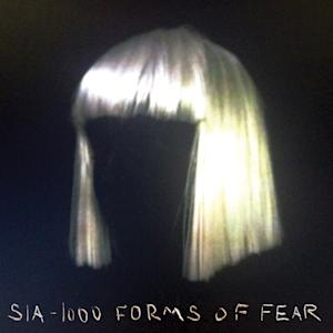 "This CD cover image released by RCA Records shows ""1000 Forms of Fear,"" by Sia. (AP Photo/RCA Records)"
