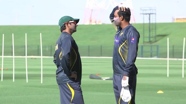 Only Hafeez to go to India for unofficial testing
