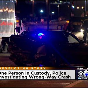 Dallas Crash May Have Been Caused By Wrong-Way Driver