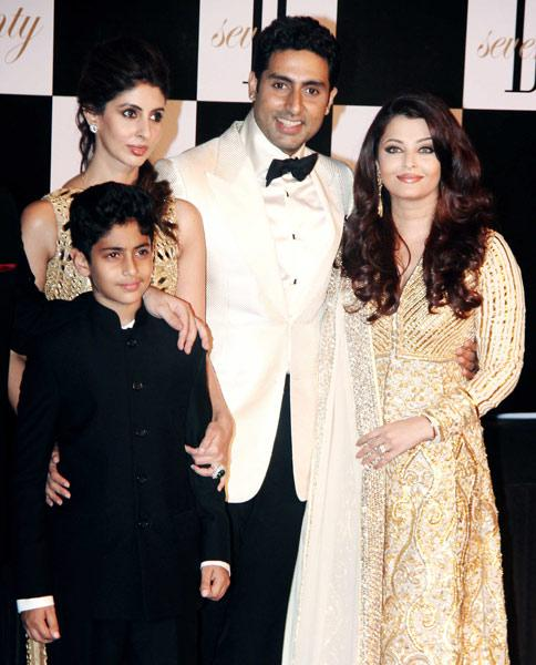 The first family at Big B's big bash