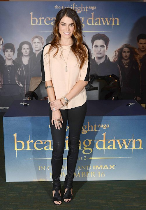 Nikki Reed   attend a signing event to promote the new 'Twilight - Breaking Dawn Part 2' movie at The National Convention Centre,  Dublin, Ireland - 27.10.12.   Mandatory Credit: WENN.com