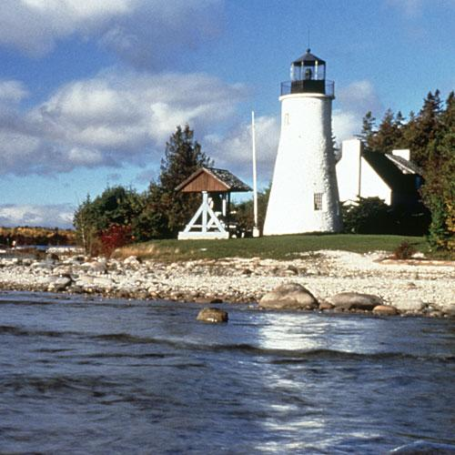 Old Presque Isle Lighthouse: Presque Isle Michigan