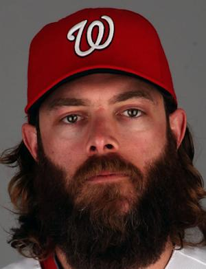 Jayson Werth Baseball Headshot Photo