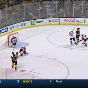 Roberto Luongo Save on Patrice Bergeron (13:04/2nd)