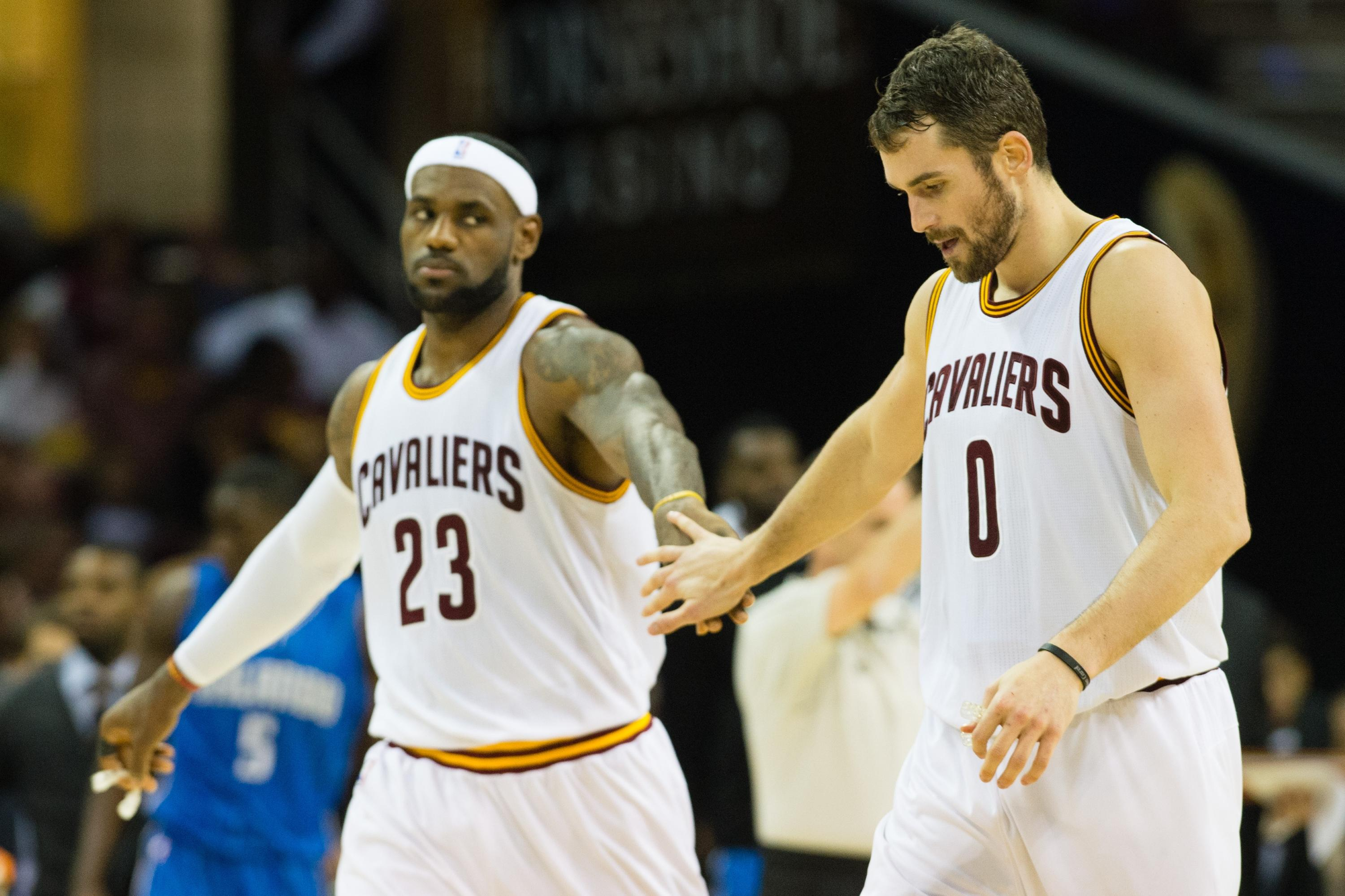'Frustrated' or not, LeBron James, Kevin Love and the Cavs seem to fit awful well