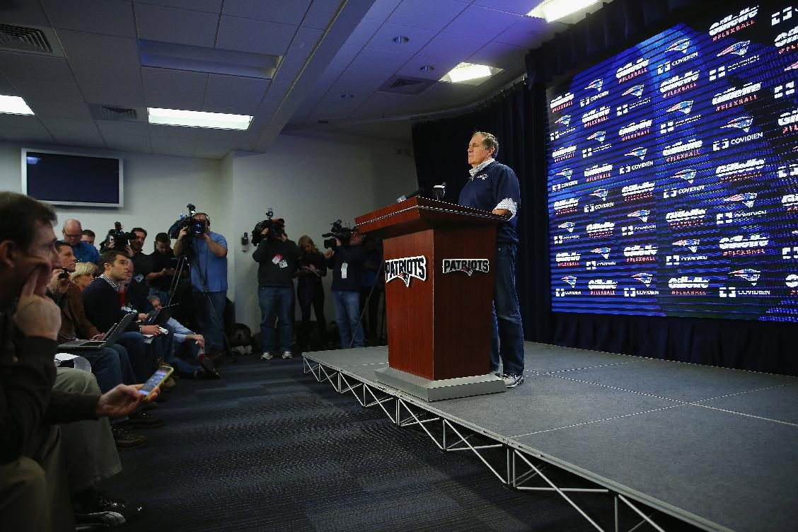 Evidence says Patriots first-half footballs too light