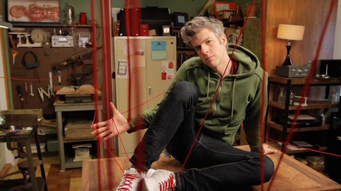 """This image released by National Geographic Channel shows David Rees of """"Going Deep with David Rees,"""" debuting Monday at 10 p.m. (AP Photo/National Geographic)"""
