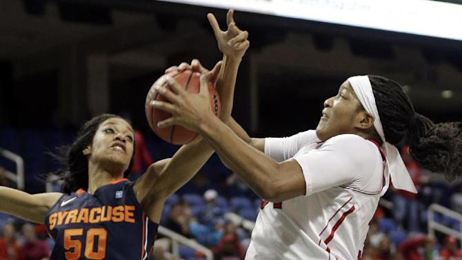 No. 14 NC State women beat Syracuse 79-63 in ACC