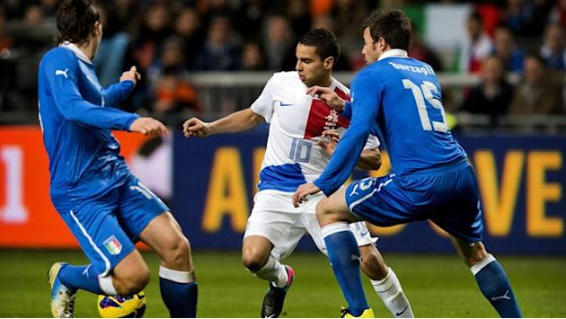 World Football - Italy earn draw with late equaliser