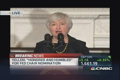 Yellen: Still too many unemployed in U.S.