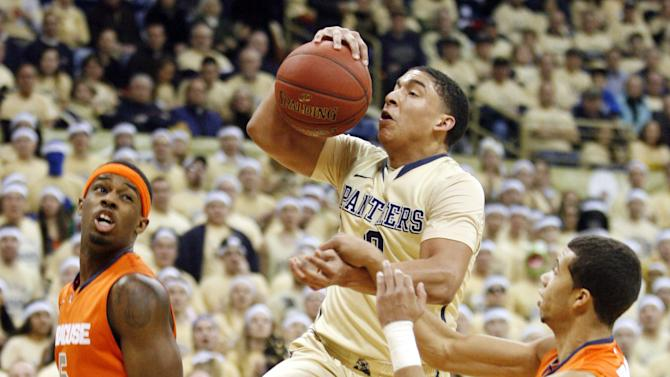 NCAA Basketball: Syracuse at Pittsburgh