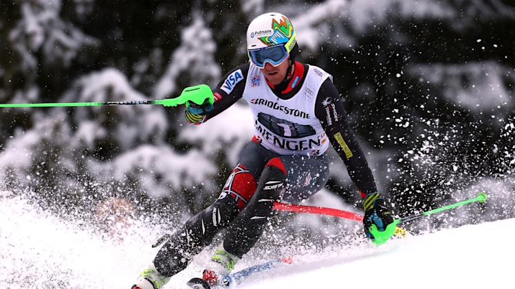 Ted Ligety wins 1st World Cup super-combined
