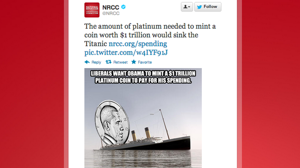 The NRCC Will Crucify Mankind on a Cross of Platinum
