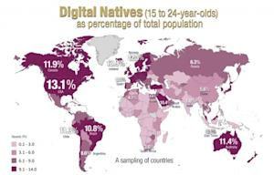 Digital Natives: The Most & Least Wired Countries Revealed