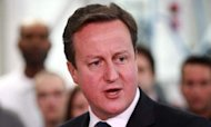 Cameron: Britain &#39;On Right Track&#39; For 2013