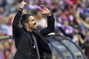 Simeone: We didn't give Xavi or Iniesta time to think