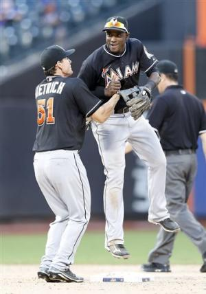 In 20 innings, Marlins outlast Mets 2-1