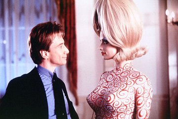 Martin Short and Lisa Marie in Warner Bros. Pictures' Mars Attacks