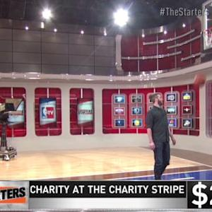 The Starters: Leigh at the Charity Stripe