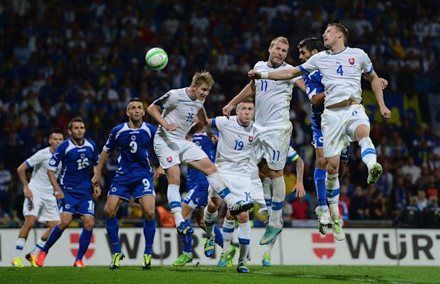 Slovakia v Bosnia-Herzegovina - FIFA 2014 World Cup Qualifier