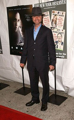 Fisher Stevens at the New York City premiere of Weinstein Company's Awake
